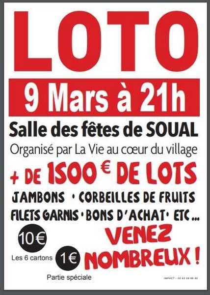 Loto Cœur du village