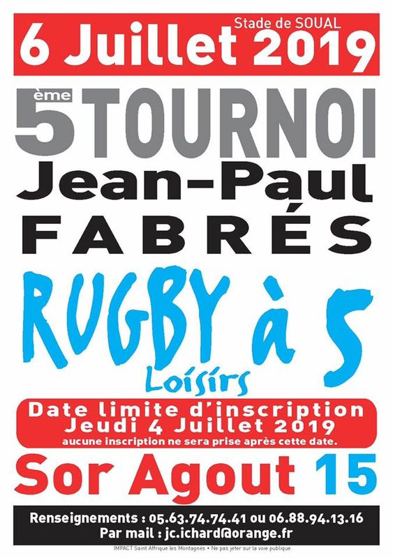Tournoi Jean-Paul Fabrés