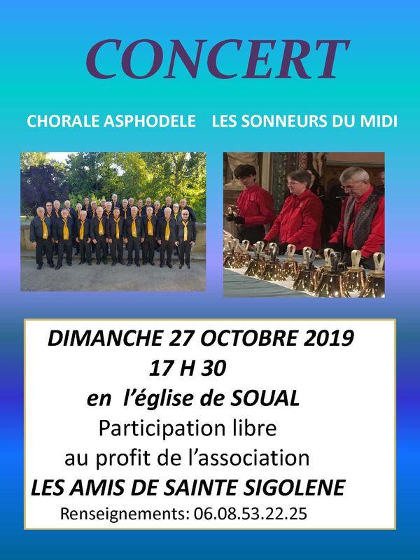 Concert Sainte Sigolène