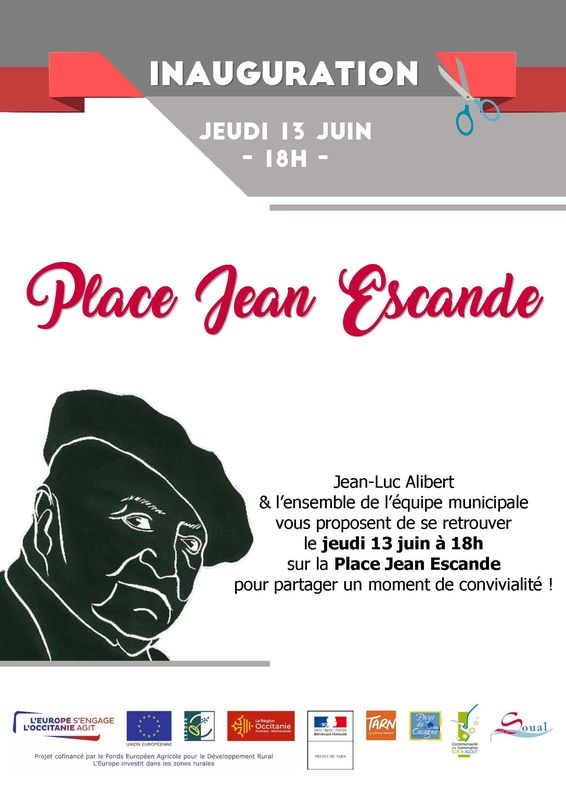 Inauguration Place Jean Escande