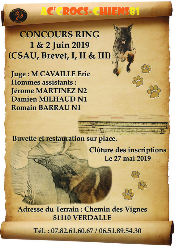Concours RING 2019