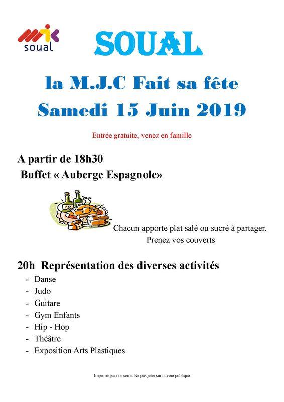 Fête MJC 2019
