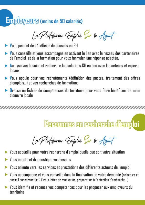 Plateforme Emploi Sor & Agout
