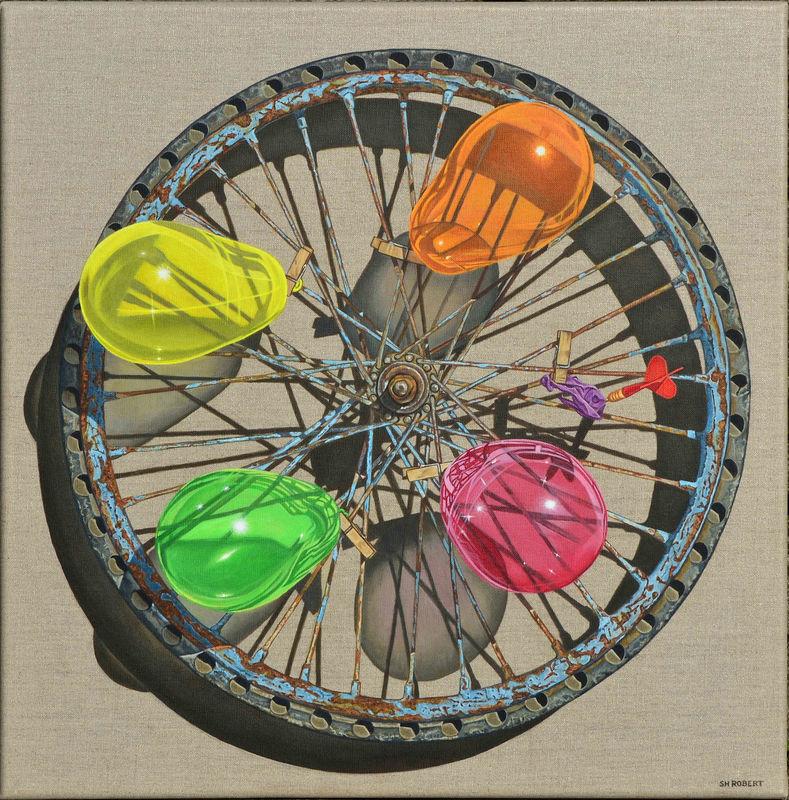 La roue pète