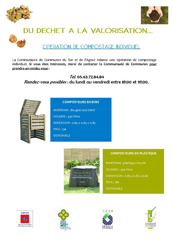 Flyer CCSA Composteurs Individuels