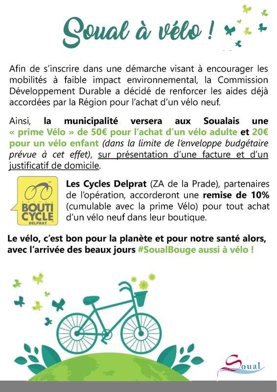 Prime vélo