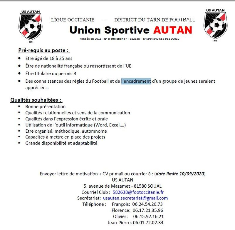 US Autan service civique 2