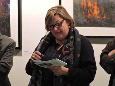 Eliane Salvat de Niort, adjointe à la Culture