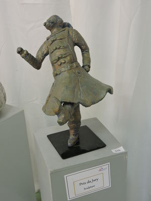 "Prix sculpture : ""Le Danseur"" de Chantal Landrier"