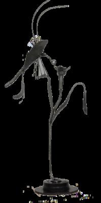 Prix sculpture : M Hormière pour papillon