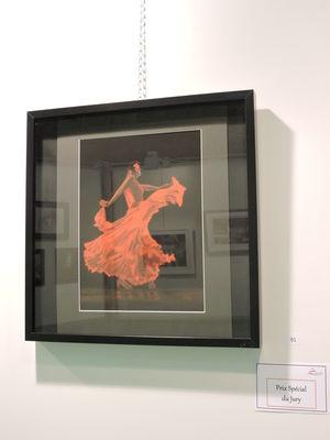 """Prix special jury : """"Danseuse Flamenca"""" de Lydie Jaoul"""