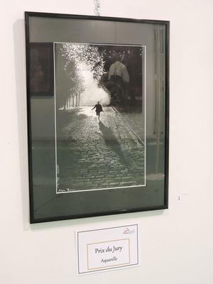 """Prix techniques humides : """"Homme qui court la nuit"""" de 7Az-Art"""