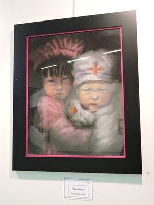 """Prix techniques sèches : """"2 enfants"""" de Pascale Besombes"""